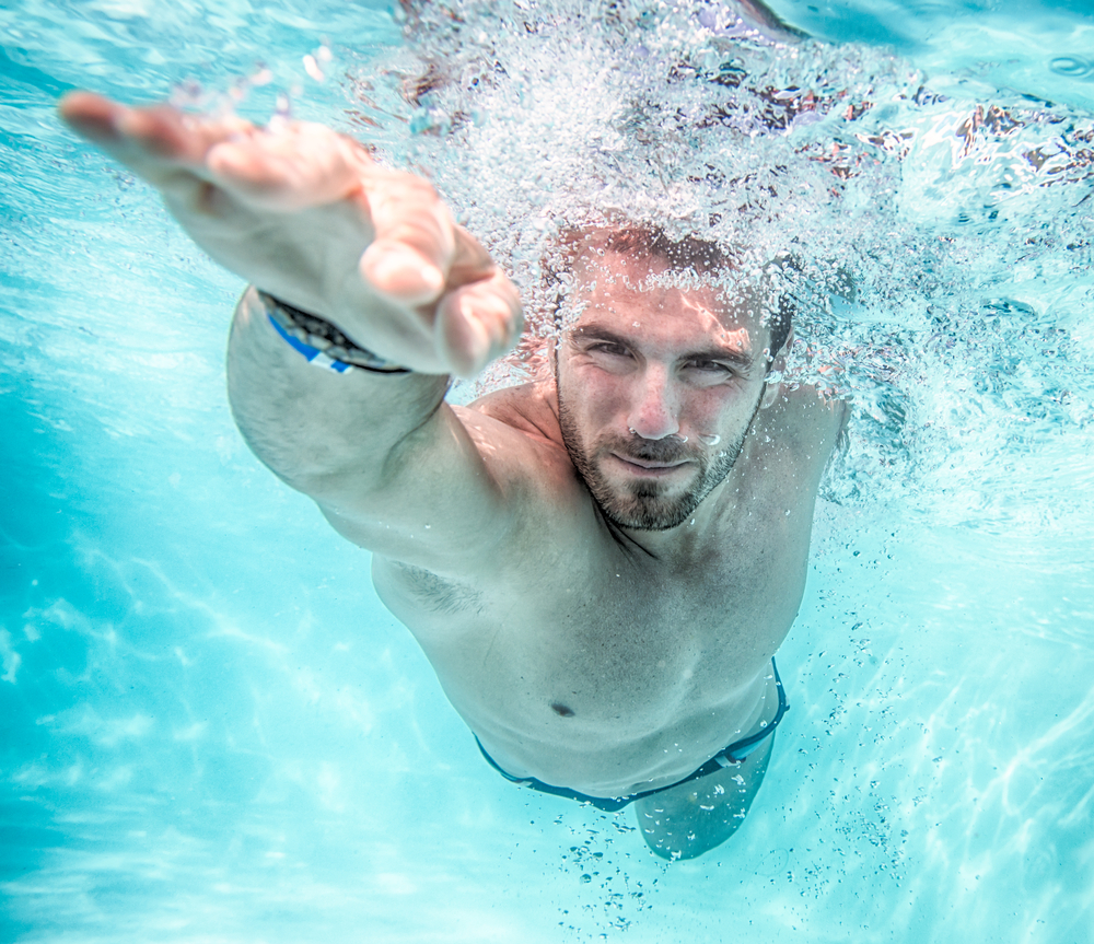 workouts for a sore body include swimming