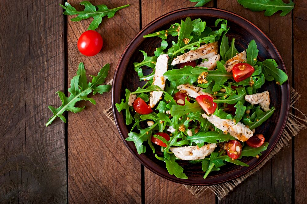 Salads and the Best Diet Food